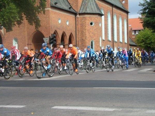 Peleton Tour de Pologne w Elku