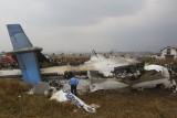 Nepal: Katastrofa samolotu w Katmandu [ZDJĘCIA] Bombardier Dash Q-400 rozbił się przy lądowaniu w stolicy Nepalu, mogło zginąć ponad 70 osób