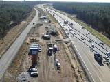 Trwa budowa drogi ekspresowej S3 Polkowice - Lubin. Na jakim jest etapie? Zobaczcie zdjęcia