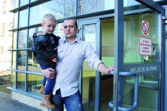 Odwiedziny są też ograniczone w szpitalu w Olkusz