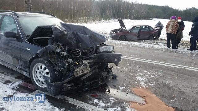 W środę, około godz. 14, na drodze krajowej nr 63 doszło do zdarzenia drogowego.