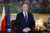 Orędzie prezydenta na nowy rok 2021. Andrzej Duda: Szczepionka jest skuteczna i bezpieczna. Sam skorzystam z programu szczepień [TREŚĆ]