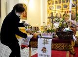 Wielka Sobota w Kościele greckokatolickim. W soborze archikatedralnym w Przemyślu poświęcono koszyki z pokarmem [ZDJĘCIA]