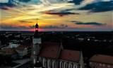 Wschody i zachody słońca nad Żorami na zdjęciach z drona zachwycają! GALERIA