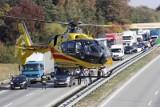 Autostrada A2: Wypadek śmiertelny pod Poznaniem - nie żyje jedna osoba