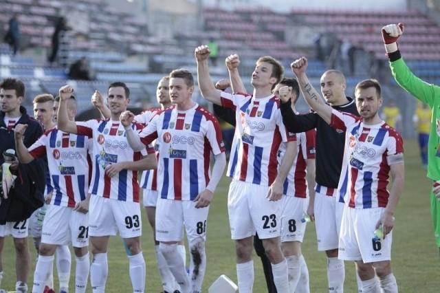 Oby w Pucharze Polski piłkarze Odry dawali nam tyle radości ile w zeszłym sezonie 2 ligi