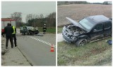 Choroszcz. Wypadek na drodze Kruszewskiej zablokował ruch (zdjęcia)