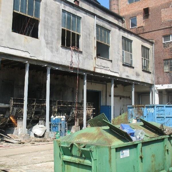 Budynki byłej cukrowni w Unisławiu są w kiepskim stanie