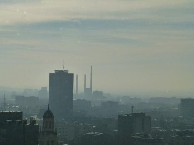 Smog w Łodzi według badań utrzymuje się około sto dni w roku.