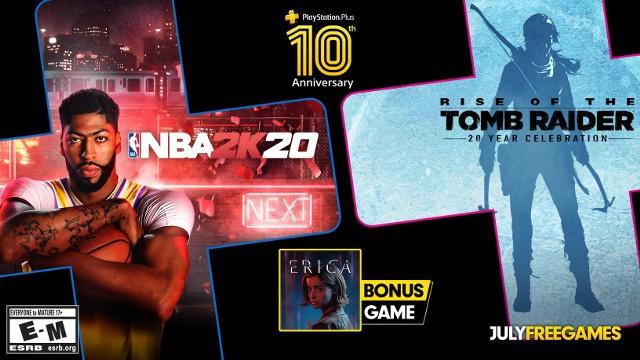 PlayStation Plus lipiec 2020 - gry za darmo [PS PLUS GRY LIPIEC 2020]