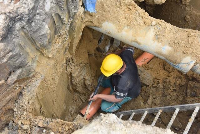 Budowa w gminie Wieliczka kanalizacji w ramach II Funduszu Spójności trwa od roku. Projekt zostanie prawdopodobnie poszerzony o kolejne miejscowości