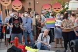 Tłumy tęczowych aktywistów. Była kontrmanifestacja
