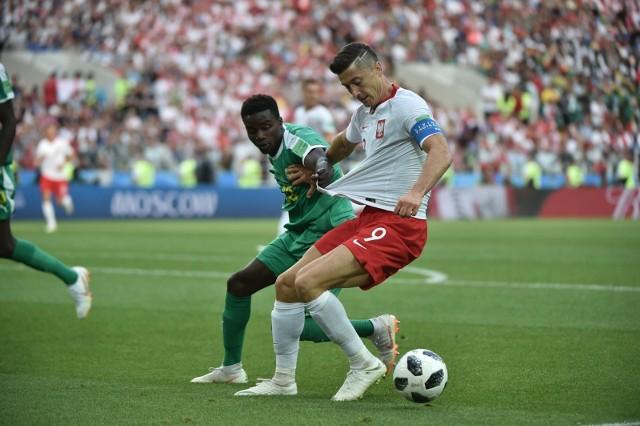 Mecz Polska - Senegal na Mistrzostwach Świata w Piłce Nożnej w Rosji