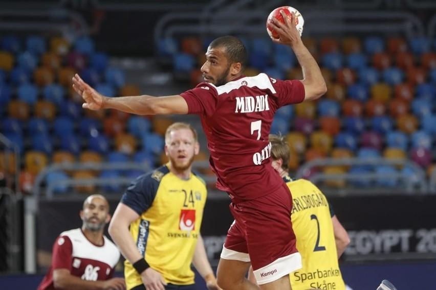 Szwecja okazała się dużo lepsza od Kataru, z którym wygrała...