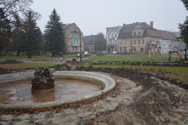 W kolejnym etapie wyremontowana ma zostać przedwojenna fontanna