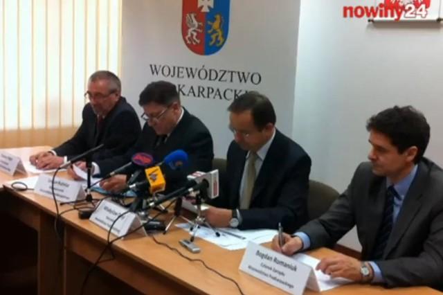 Konferencja u marszałka.