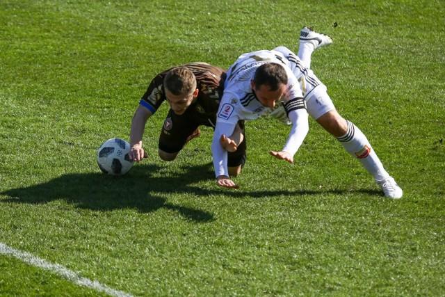 Chojniczanka Chojnice przegrała z Garbarnią Kraków 1:2, chociaż po pierwszej połowie prowadziła 1:0