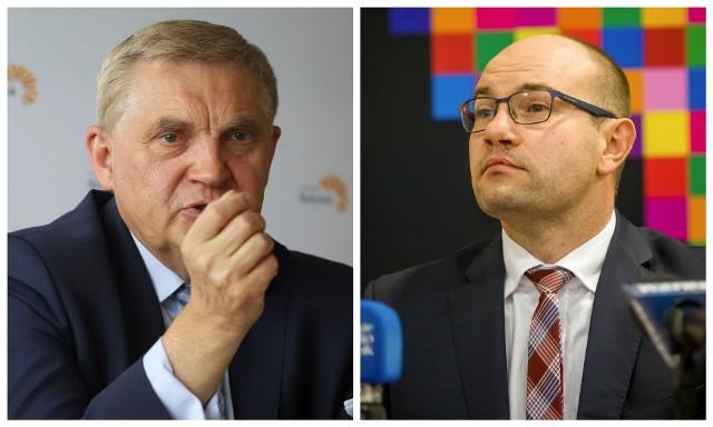 Tadeusz Truskolaski i Artur Kosicki