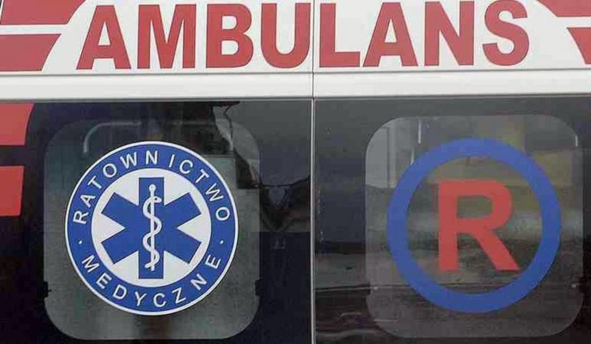 Wypadek w Michałowie. Jedna osoba trafiła do szpitala