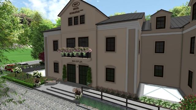"""Trwa budowa nowego Hotelu """"Ossoliński***"""" w Sandomierzu. Zobacz jak przebiegają prace. Wiemy jak będzie wyglądał efekt finalny. Zobacz więcej na kolejnych slajdach>>>"""