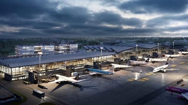 Na terenie Portu Lotniczego Gdańsk 5 czerwca 2020 r. odbyło się wmurowanie kamienia węgielnego pod rozbudowę o pirs zachodni Terminalu Pasażerskiego T2.
