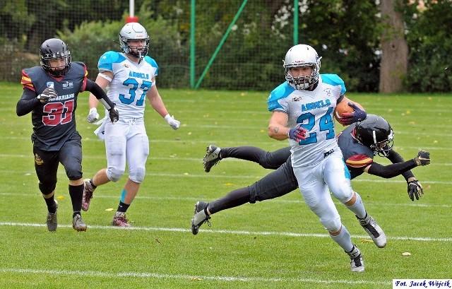 Zawodnicy Barbarians Koszalin rywalizowali z Angels Toruń.