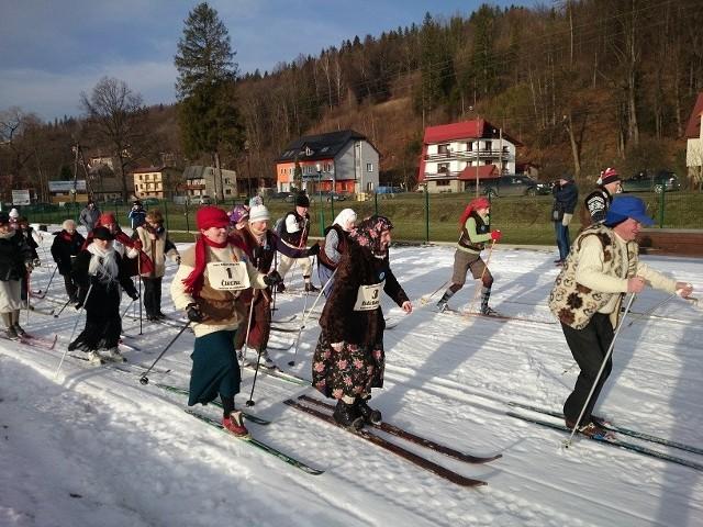 Bieg Retro ma stałe miejsce w kalendarzu imprez zimowych w Wiśle.