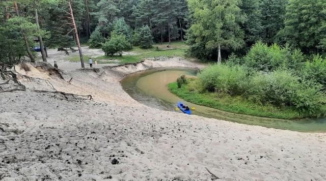 Zakole Sztoły w pobliżu ul. Mostowej w Bukownie