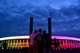 UEFA zabroniła podświetlić obiekt w Monachium, więc kolorami tęczy mienił się Stadion Olimpijski w Berlinie