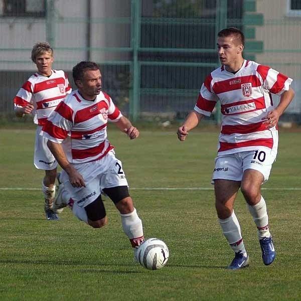 Maciej Biliński (z lewej) i Witold Jakubowski mieli sporo wkładu w to, że Resovia wróciła do III ligi.