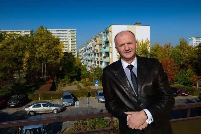 Wojciech Piechota prezes Spółdzielni Na Skarpieprezes