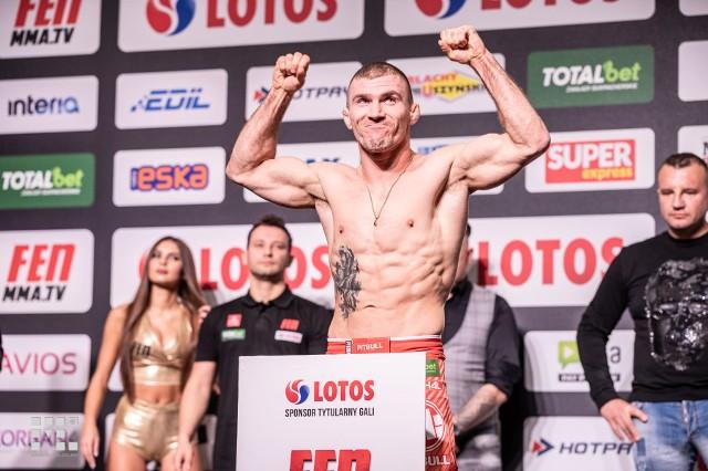 31-letni Daniel Rutkowski wygrał walkę wieczoru podczas gali FEN 31 w Łodzi