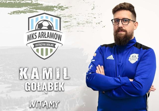 Kamil Gołąbek ostatnio pracował w Boguchwale