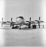 Gdańsk: Lotnisko w Rębiechowie otwarto 46 lat temu! 2 maja przyleciał pierwszy rejsowy samolot z Wrocławia. Zobaczcie archiwalne zdjęcia