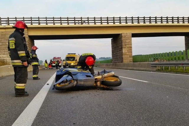 Do Kolizji doszło na 272. kilometrze autostrady (powiat strzelecki).