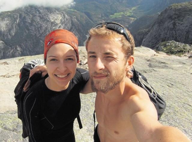 Kasia i Piotr razem skakali w Norwegii, ale już planują kolejne wypady. Chcieliby skoczyć ze szczytu Eiger w Szwajcarii.