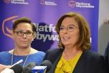 Małgorzata Kidawa-Błońska w Zielonej Górze. Wicemarszałek Sejmu spotkała się z przedstawicielami lubuskiej Platformy