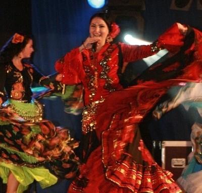 Na scenie wystąpiła m.in. Elena Rutkowska i zespół Cygańskie Czary