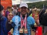 Nordic walking.  Mistrzostwa Polski  Krzysztof Czerski w złocie