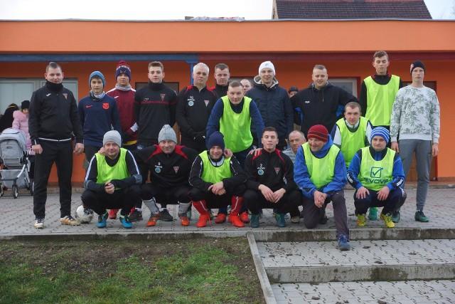 Mecz noworoczny Victorii w Szczańcu