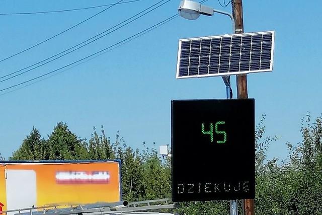 Elektroniczne tablice z pomiarem prędkości to jeden z projektów Poznańskiego Budżetu Obywatelskiego