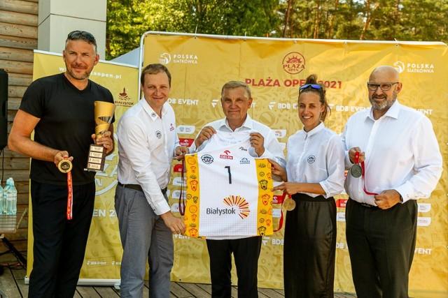 W dniach 20-22 sierpnia na plaży w Dojlidach odbędzie się turniej siatkówki plażowej Plaża Open 2021.