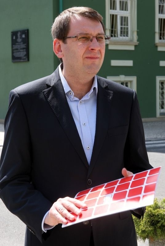 Dawid Krystek, kandydat SLD na prezydenta Szczecina