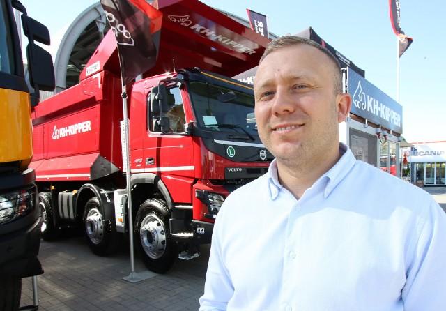 - Firma KH-Kipper jak co roku zaprezentuje na targach Autostrada wiele nowości - mówi prezes Andrzej Kamionka