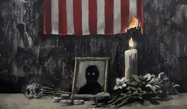Nowa praca Banksy`ego przeciwko rasizmowi