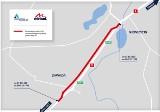 Zmiany organizacji ruchu na budowanej drodze ekspresowej S5 w powiecie świeckim