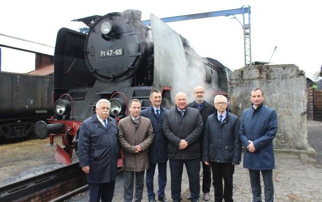 Wiceminister Tadeusz Kościński odwiedził Wolsztyn