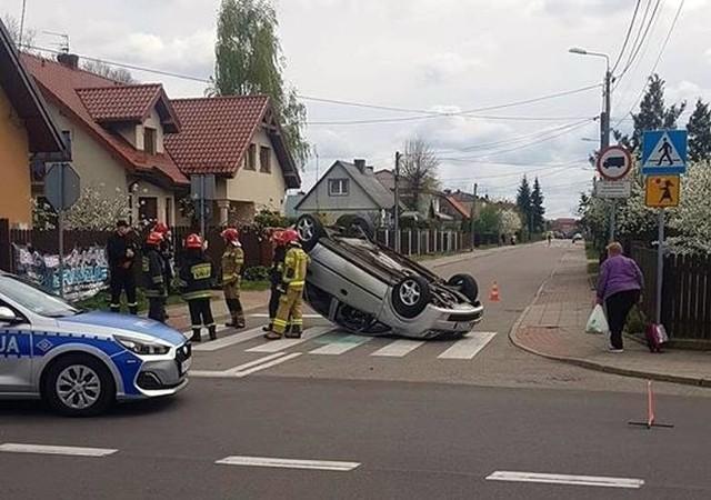 Najwięcej zdarzeń drogowych w Białymstoku powstało w wyniku niezachowania bezpiecznej odległości między pojazdami - 1360 (23,83%)