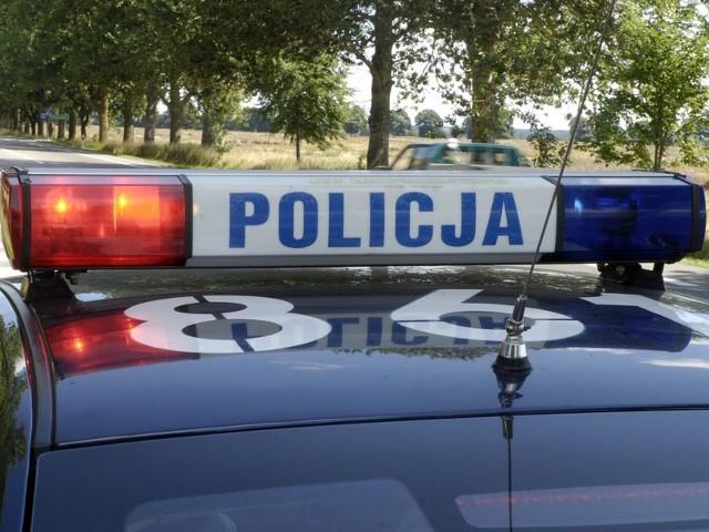 W Lewkowie Starym policja zatrzymała pijanego kierowcę
