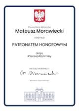 Akcja #szczepiMYgminy objęta Patronatem Honorowym Premiera Mateusza Morawieckiego